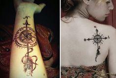 Tattoo - Rosa dos ventos