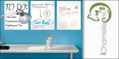 6ft White Board Decal   Free Shipping!