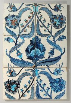 William De Morgan tiles in the Persian style | Flickr - Photo Sharing!