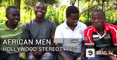 African Men Explain How Hollywood Stereotypes Are Another Form Of Racism. - 9GAG.tv