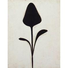To Ellsworth Kelly, Plant II, 1949, Oil on wood,