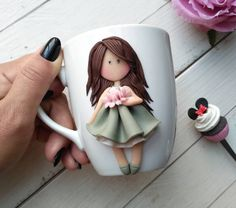 [New] The Best Crafts Today (with Pictures) - These are the 10 best crafts today. According to crafting experts, the 10 all-time best crafts right. Polymer Clay Tools, Cute Polymer Clay, Fimo Clay, Polymer Clay Projects, Polymer Clay Jewelry, Diy Crafts To Do, Handmade Crafts, Clay Magnets, Mug Art