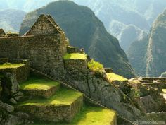 What you see in this majestic picture is the city of Machu Picchu built by the Inca people in Peru more than 600 years… by Oh The Places You'll Go, Places To Travel, Places To Visit, Travel Destinations, Wanderlust, Bolivia, Inca Trail Tours, Peru Vacation, Uruguay