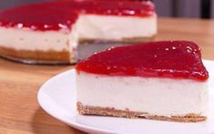 Tasty and easy desserts recipes. cooking videos for dinner. how to make new york cheesecake. A simple dessert and a quick food video for lunch or dinner … Easy To Make Desserts, Dinners To Make, Food To Make, Cheesecake Recipes, Dessert Recipes, Strawberry Cheesecake, Sweet Dishes Recipes, Easy Recipes, Flan Recipe