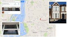 Hijama House 146 Palmerston Rd Walthamstow London E17 6PY Hijama Cupping, Cupping Therapy, London Location, Floor Plans, House, Home, Homes, Floor Plan Drawing, Houses