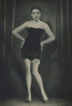 "Betty Boop was based off of Ms.Esther Jones known by her stage name ""Baby Esther"". She was an African-American singer and entertainer of the 1920's. Her singing trademark was ""Boop oop da doop"" hence the name Betty Boop! She performed regularly at the cotton club in Harlem,New York."