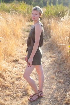 simple romper from @Anthropologie