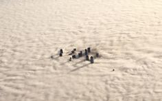 Downtown Dallas is enveloped in morning fog, Picture: AP