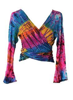 Tie-dye dance top