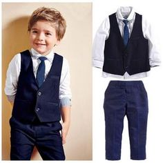 Cheap boys suits, Buy Quality suit for boys directly from China kids tales Suppliers: KIDS TALES Wedding Suits for Boys Set Autumn 2017 Children Leisure Clothing Sets Kids Baby Boy Suit Vest Gentleman Clothes Boys Suit Vest, Baby Boy Suit, Baby Boy Dress, Blazer For Boys, Vest And Tie, Baby Boys, Kids Boys, Toddler Boys, Kids Vest