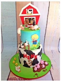 Fun on the farm! - Cake by Madelyn