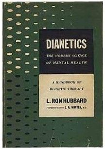 """L. Ronald Hubbard in 1954 wrote the popular book Dianetics: The Modern Science of Mental Health, as its essential texts. Scientology teaches that the human mind is often restricted by its subconscious thoughts (the """"reactive mind"""") and needs to be freed from negative thoughts (called """"engrams"""") under the direction of a counselor (called an """"auditor"""") in order to release its everlasting spirit (""""thetan"""")."""