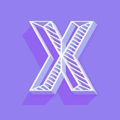 #X for x-ray see the skeleton! #36days_X #type #typography #36daysoftype  @36daysoftype by ekablu