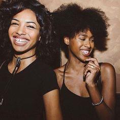 : @ronyca | Smiles are so infectious!  #blackgirlmagic #smile #saturdayvibes #blackbox #curatedforhue #beauty #blackwomen #naturalhair
