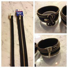 diy clothes | DIY Fashion: Zipper Accessories | tamikafletcher.com