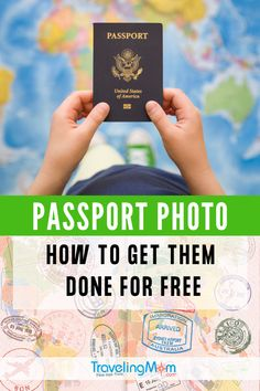 A budget-minded traveler shares tips for meeting passport photo requirements for free or on the cheap. Read on to learn how to take a passport photo. Travel Advice, Travel Tips, Travel Hacks, Passport Photo Booth, Travel With Kids, Family Travel, Expedited Passport, Passport Pictures, Passport Application