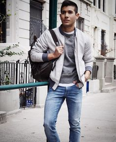 """BEAUTIFUL MENSWEAR on Instagram: """"Gray hues  courtesy of @trendstyled. Share your favorite outfits and include #beautifulmenswear"""""""