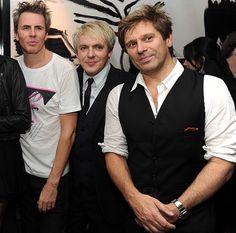 John, Nick & Roger