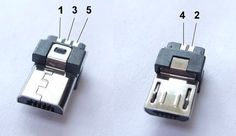 micro usb connector pin out