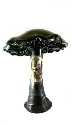 The Mushroom -- vinyl record sculpture. $200.00, via Etsy.