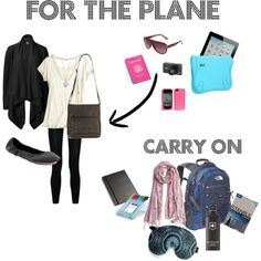 Outfit for the plane. Thats about right. ah perfect!
