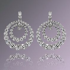 Add some glitz and glam to your weekend! #SashaPrimak #diamonds #earrings Style AE409