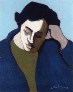 milton avery   Milton Avery - 1949   Color Me Happy