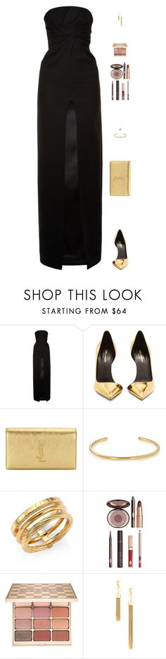 """Sin título #4616"" by mdmsb on Polyvore featuring moda, Yves Saint Laurent, Charlotte Tilbury y Stila"