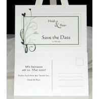 """Save the Date """"Herzzauber"""" dunkelgrün Save The Date, Place Cards, Dating, Place Card Holders, Paper Mill, Card Wedding, Darkness, Invitations, Quotes"""
