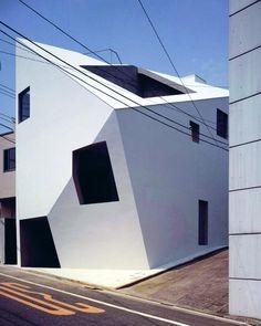 Tadao Andō, Garde Corps Design, Creative Architecture, Japanese Design, Architect Design, Japan Travel, Facade, Beautiful Homes, Building A House