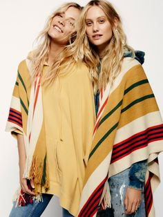 FP X Back Bay Hooded Kimono at Free People Clothing Boutique