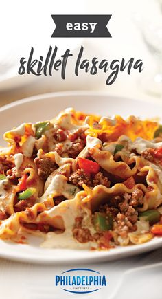 2049 best quick and easy dinners images on pinterest asian food easy skillet lasagna cook this freewheeling skillet lasagna on the stove and get ready for a round of applause on your dinner table forumfinder Images