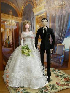 A noiva eo noivo