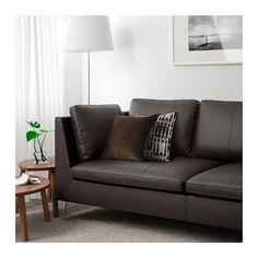 STOCKHOLM Sofa, Seglora dark brown Seglora dark brown