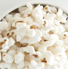 Making White Cheddar Cheese Popcorn is as easy as sprinkling on some seasoning. Don't believe us? Try it! It's delicious.