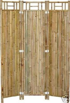 Bamboo Room Divider 3 Panel Screen  Great for tropical, asian, zen, tiki, or beach theme decor, stores or homes.    (805) 479-Tiki (8454) M-F 9am-5pm PST or eBay user ID: TIKITOESCA or email address:  TikiToesCa@aol.com Thanks! Michele Craft.  Click on the picture to take you to order page.  Mention you saw it on Pinterest and get a free gift!