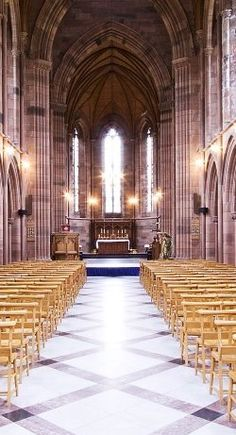 Weddings in Scotland.  Crichton Church in Dumfries.  With the character of a mini catherdral set in lush green gardens and next door to the fabulous Easterbrooke Hall for reception - perfect!