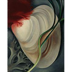 O'Keeffe: Shell No. 2 (custom print)