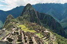 Machu Pichu, Perú