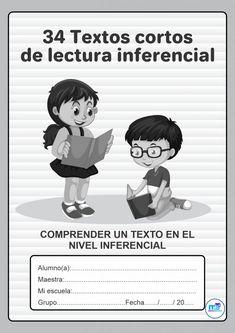 Textos cortos de lectura inferencial I Material Educativo Spanish Class, Learning Spanish, Grade 1, Second Grade, Reading Comprehension, Homeschool, Teaching, Writing, Education