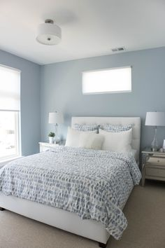 "BLUES MY 10 FAVORITE ""SKY"" COLORS Blue master bedroom"
