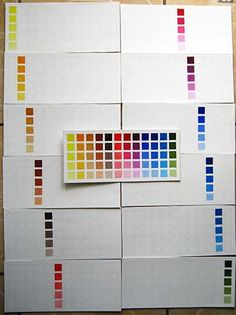 carta de colores para aprender a pintar al óleo | Pintar al óleo Colorful Fashion, Color Mixing, Illustration Art, Abstract, Drawings, Painting, Oil Painting Lessons, Drawing Techniques, Atelier