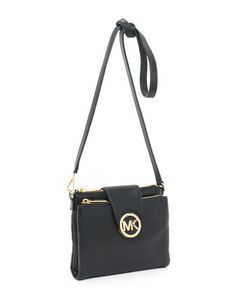 Michael Kors bags and Michael Kors handbags Michael Kors Fulton Large  Crossbody Bag Black 94 d834dc1c1fa01