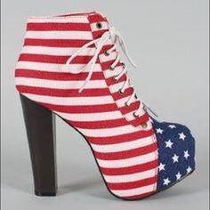 Urbanog Shoes - Patriotic Booties
