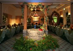 Snow White party - yes, over the top, but just putting ideas out there!