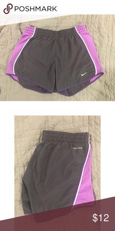 Nike Tempo Shorts Nike Tempo Shorts in purple. EUC. 100% Dri-Fit polyester. Nike Shorts