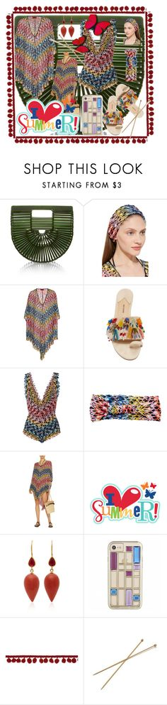 """""""Untitled #45"""" by pursue-happiness ❤ liked on Polyvore featuring Cult Gaia, Missoni Mare, Rosie Assoulin, Cricut and Mallary Marks"""