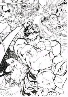Street Fighter by Yusuke Murata!