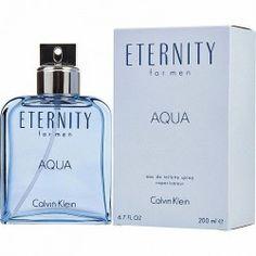 Perfume Eternity Aqua de Calvin Klein para Hombre 200ml