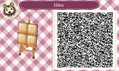 "redtallin: "" More acnl paths! Some varying sized cobbles and some square tiles ~ """